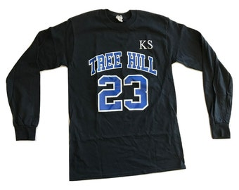 Tree Hill Scott 23 - Long Sleeve - Black