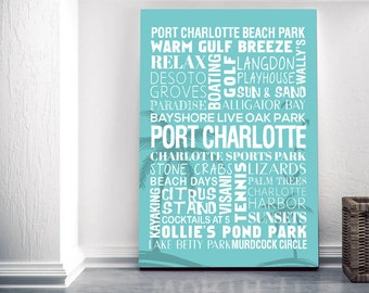 Port Charlotte Canvas By Kinleigh & Co.