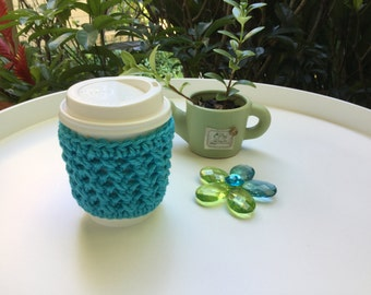 cup cozy, crochet cup cozy, tea cup cozy, coffee cup sleeve,perfect gift
