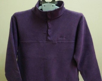 Rare Vintage L L BEAN Fleece Jacket For Women Size M Medium