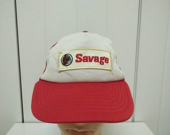 Rare Vintage SAVAGE | Native American tribes | Bohomians | Aztec Tribal Cap Hat Free size fit all