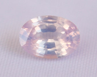 Natural Pink Sapphire Oval Cut 7.2mm 1.05CT