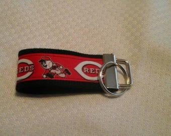 Cincinnati Reds key fob