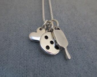 New 4-Piece Necklace Set