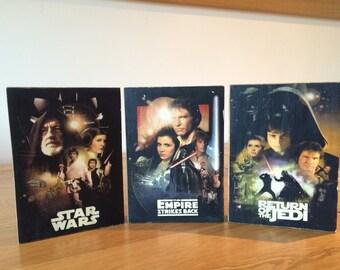 Star Wars, rustic pallet prints