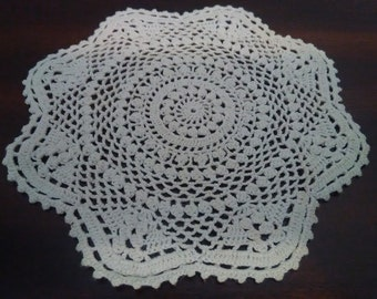 Pretty Little Crochet Doilie~Shows Off Your Pretty Little Things