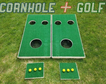 Golf hole - LAWN GAME. Get it before summer! Great for BBQs, parties, weddings, cookouts, reunions, the beach, & birthdays. Like cornhole