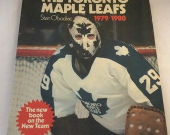 Toronto Maple Leafs  1979 / 1980 by Stan Obodiac coffee table book vintage hockey books NHL