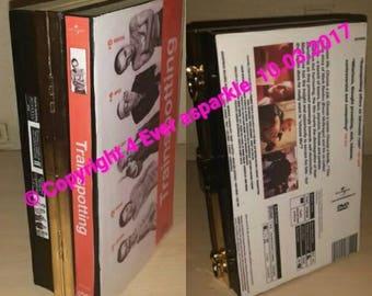 Custom Trainspotting Clutch Book/DVD Bag