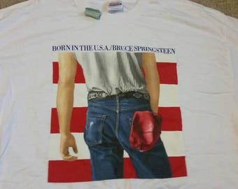 Bruce Springsteen shirt,90s, born in the USA, NEW,80s, XL, born in the U.S.A