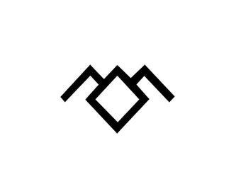 Owl Decal -  Twin Peaks Sticker / Laura Palmer / Twin Peaks / David Lynch