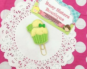 Planner clip - fairy cupcake