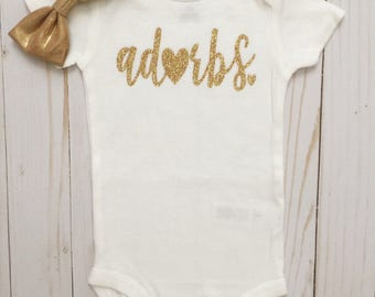 Adorbs Onesie•Adorbs•Totes adorbs•Baby onesie•Adorbs Bodysuit•Babyshower Gift• New Baby•