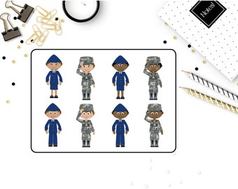 1114~~ Airforce Military Planner Stickers.