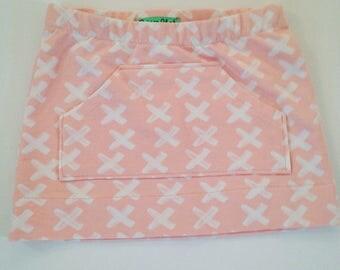Cross pink skirt