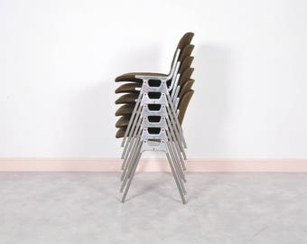Castelli DSC 106 Stacking Chairs by Giancarlo Piretti