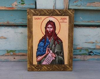 Saint John,St John,Gospel of John,Epistles of John,Prophets,Preacher,Blessed Icon,Feast Day,Twelve Apostles,John the Evangelist,Religion