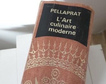 Pellaprat l'art culinaire 1st Edition Collins 1967 orange cloth boards
