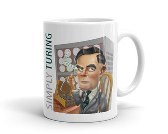 Simply Turing White Ceramic Mug