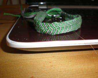 Harry Potter Slytherin house with snake bracelet