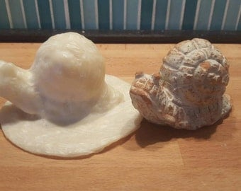 LaTeX mold for concrete small snail