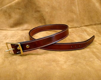 """38"""" Hand Made Leather Belt"""