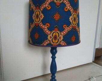 DISCOUNT blue vintage lamp
