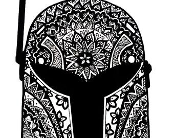 starwars rebels, sabine helmet