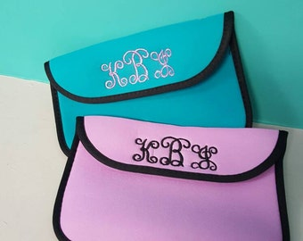"""Monogram tablet sleeve.  8 """" or 10"""" sleeve - mongram or name included.  Unique tablet gift!"""