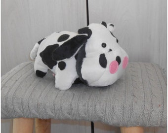 READY TO SHIP: handmade cow plush