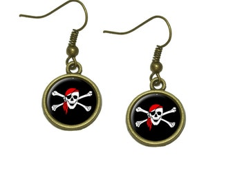 Arrr You A Pirate Dangle Dangling Drop Earrings