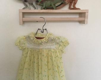 Yellow Spring Flower Dress