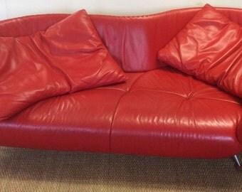 De Sede DS-102/30 Leather Sofa by Mathias Hoffmann