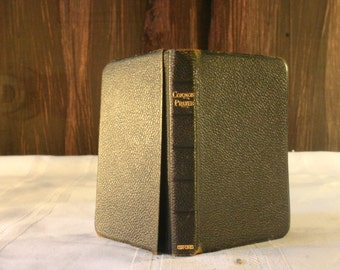 1907 Book of Common Prayer Pocket Bible - Free Shipping