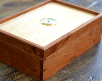Dovetailed Cigar Humidor