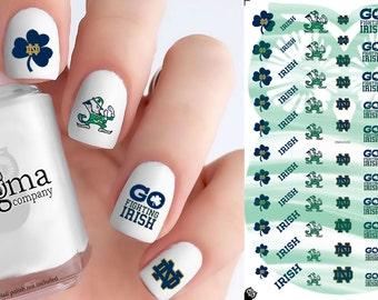 Notre Dame Fighting Irish Nail Decals (Set of 77)