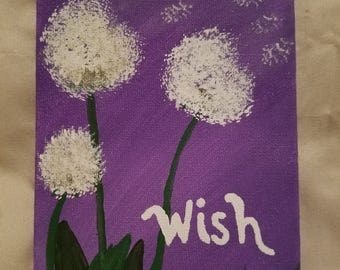5x7 Wish dandelion seeds