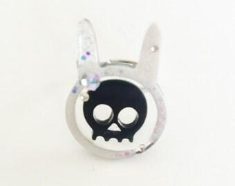 Skully Bunny Ring