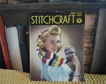 Stitchcraft Magazine June-July 1944