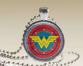 Wonder Woman Necklace Wonder Woman Jewelry Wonder Woman Pendant Feminist Jewelry WWN2
