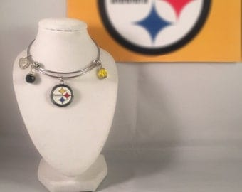 PITTSBURGH STEELERS EXPANDABLE bangle bracelets