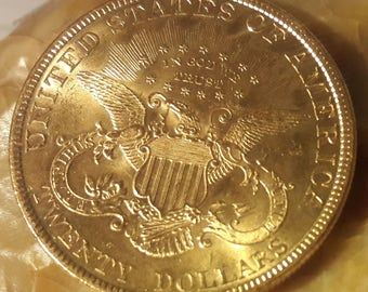 1899 double eagle twenty dollar gold coin MS+ new lower price!