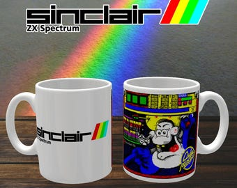 ZX Spectrum Retro Gamer Mug 'Wild West Seymour' Coffee Mug, Coffee Cup, Ceramic Mug