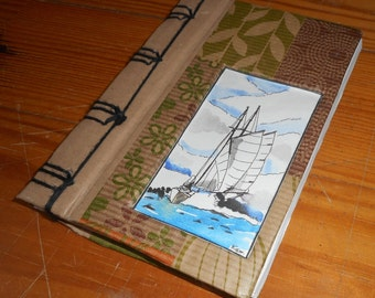 Sailing travel book, notebook