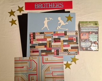 Brothers Scrapbooking Kit