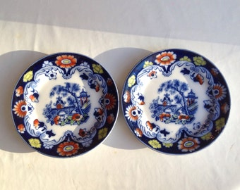 Chinese plates flow ware Bristol