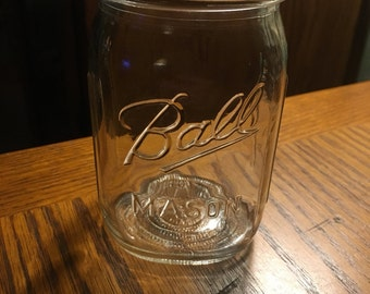 Ball Mason Pint Jar