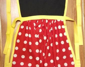 Disney Minnie Mouse Apron Adult / Child