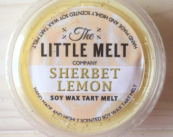 Sherbet Lemon Soy Wax Tart Melt Pod
