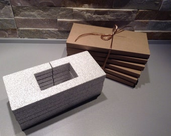 24 mailing envelopes, less than 2 cm slot of doom, recycled kraft cardstock jewelry, ETSY sellers, protection, ultra light